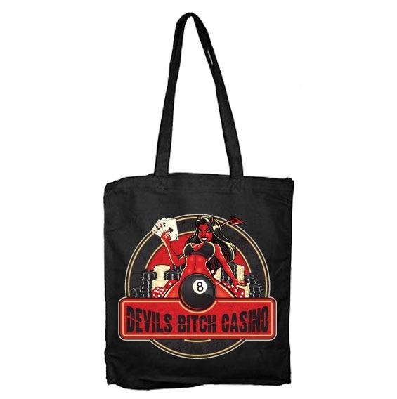 Devils Bitch Tote Bag