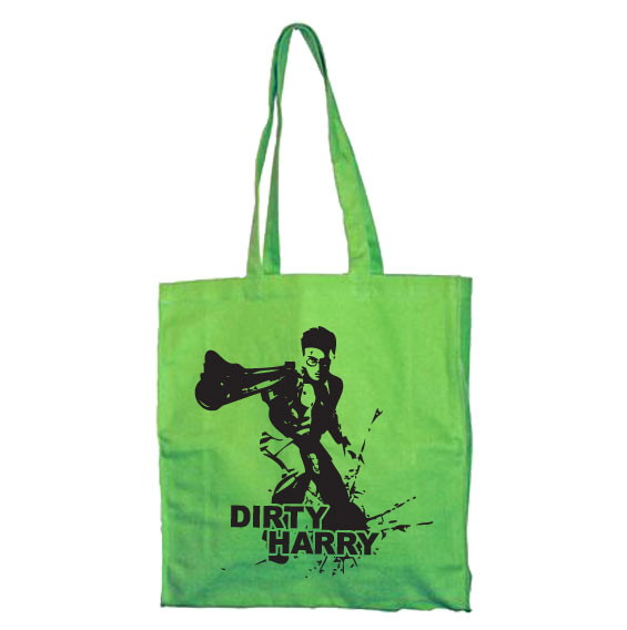 Little Dirty Harry Tote Bag