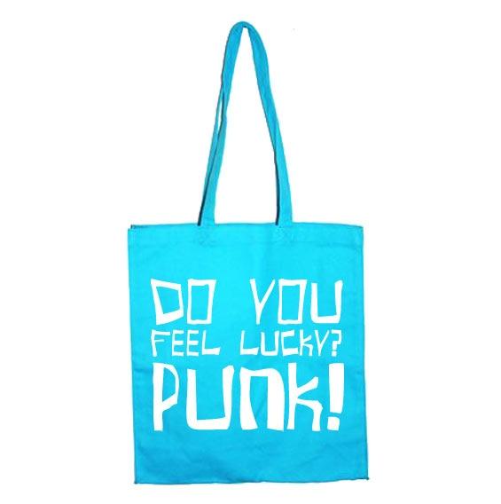 Do You Feel Lucky Punk Tote Bag