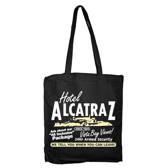 Hotel Alcatraz Tote Bag