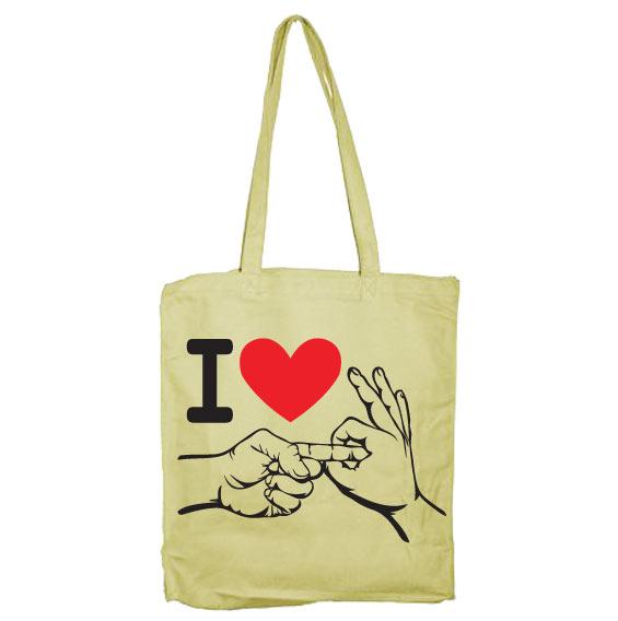 I Love To Make Love Tote Bag