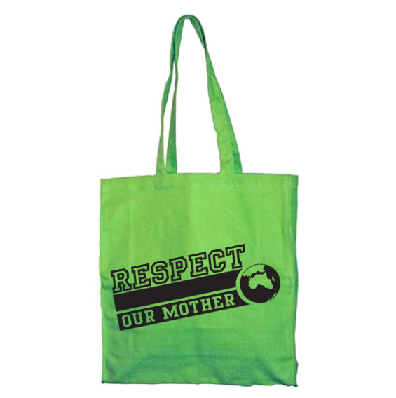 Respect Our Mother Tote Bag