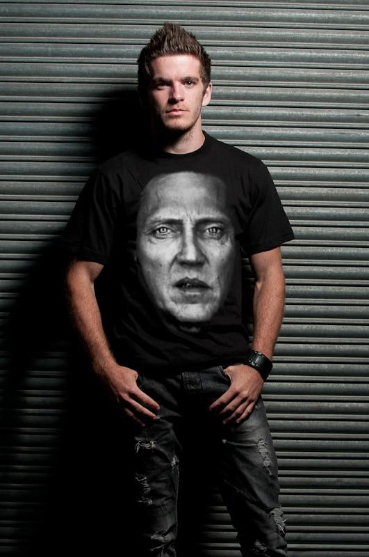 Christopher Walken Face Tee
