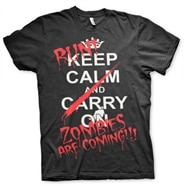 Run - Zombies Are Coming! T-Shirt