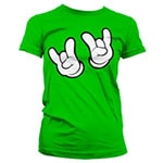 Cartoon Rock Hands T-Shirt