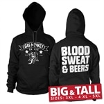 GMG - Blood, Sweat & Beers Big & Tall Hoodie
