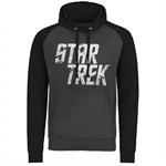 Star Trek Distressed Logo Baseball Hoodie