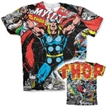 Thor Comics Allover T-Shirt