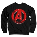 The Avengers Distressed A Logo Sweatshirt