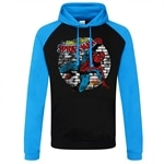 Marvel Comics - Distressed Spider-Man Baseball Hoodie