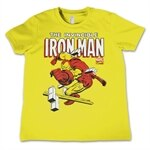 The Invincible Iron Man Kids T-Shirt