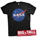 NASA Washed Insignia Big & Tall T-Shirt