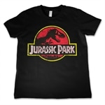 Jurassic Park Distressed Logo Kids T-Shirt