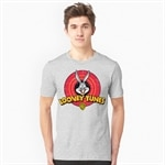 Looney Tunes Distressed Logo T-Shirt