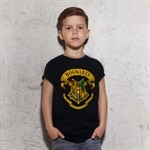 Harry Potter - Hogwarts Crest Kids T-Shirt