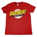 Bazinga Super Logo Kids T-Shirt