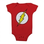 The Flash Logo Baby Body