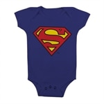 Superman Shield Baby Body