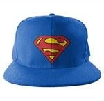 Superman Shield Snapback Cap
