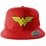 Wonder Woman Wings Snapback Cap