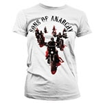 Sons Of Anarchy Motorcycle Gang Girly T-Shirt