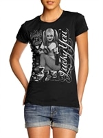 Harley Quinn - Lucky You Girly Tee